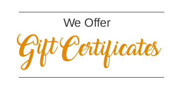 Permanent Cosmetic Gift Certificates Available